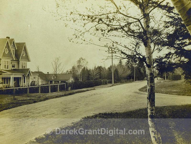 Rothesay, New Brunswick Street View Albumen Netherwood Gate - Historic New Brunswick