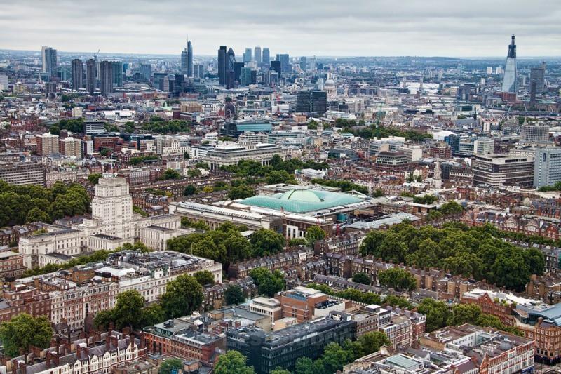 city skyline - London