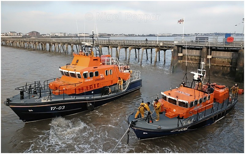 Departing Pair - Lifeboats