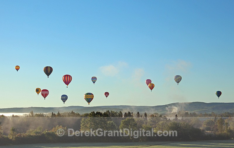Baker's Dozen - Balloon Festival Sussex New Brunswick Canada - Atlantic International Balloon Fiesta