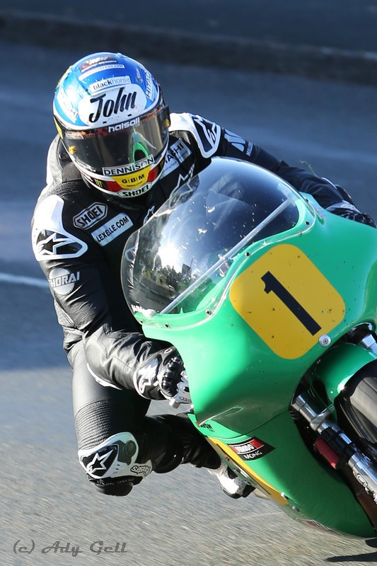 John McGuinness 500 Paton - Racing