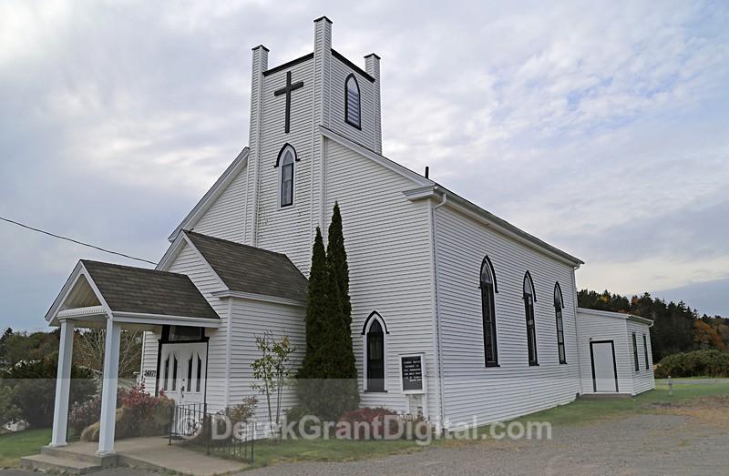 St. Thomas Church Black River New Brunswick, Canada - Churches of New Brunswick