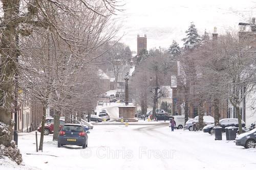 West Morton Street, Thornhill - Around Thornhill