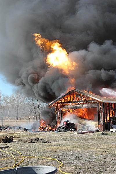 Garage Fire - Fallon/Churchill Fire Department