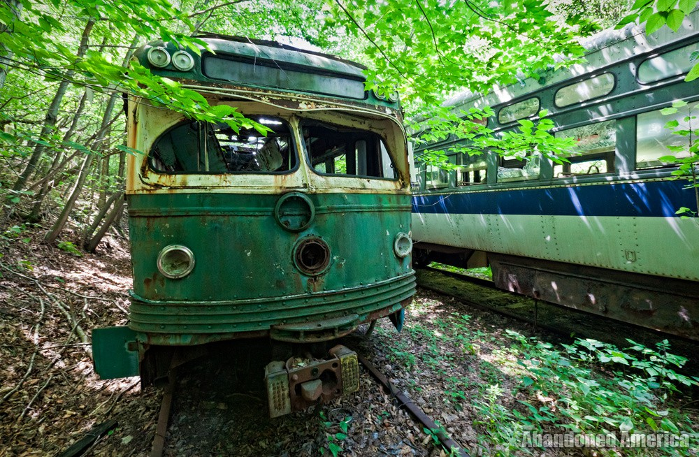 Trolley Graveyard | Anthropomorphism - The Trolley Graveyard