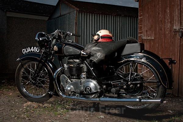 8 - Rudge Motorcycle Restoration