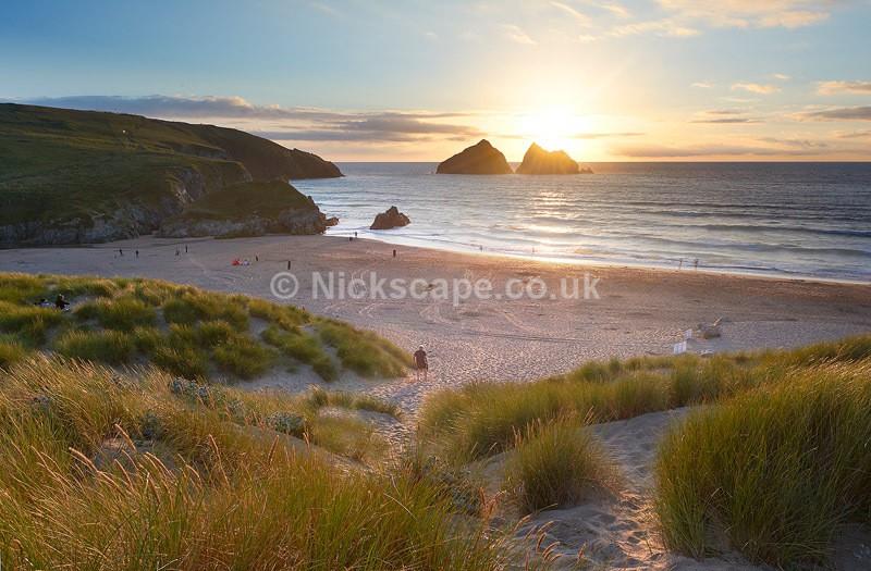 Summer Sunset at Holywell Bay | Newquay | Cornwall