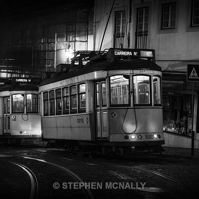 Trams Lisbon Portugal II - Industrial /urban