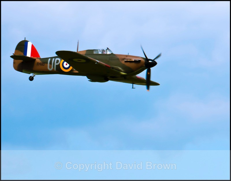 NM Air Pageant Hawker Hurricane 43a - North Moreton Air Pageant