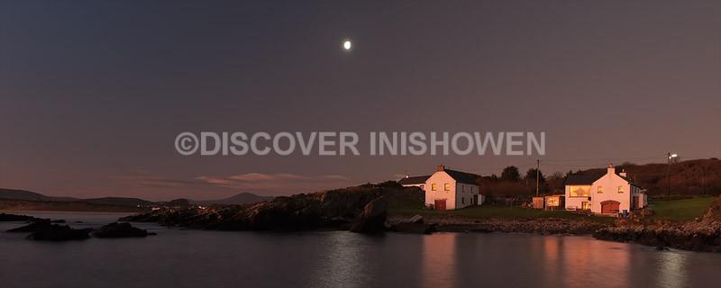 Night at Bunagee - Inishowen-Pano