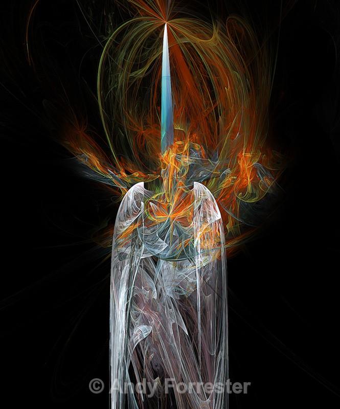 Sword of Flame - Apophysis Art