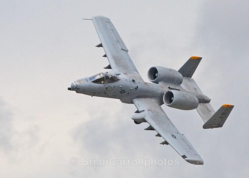 IMG_9412 USAF Fairchild Republic A10 'Warthog'Thunderbolt 2 'Warthog' - RAF Fairford RIAT 2009 - 2014 Airshows