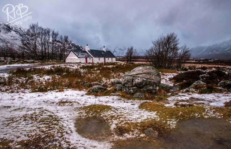 Winter At Black Rock Cottage - Other UK Landscapes