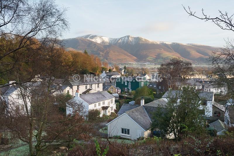 Braithwaite Village in Winter   Lake District Photography