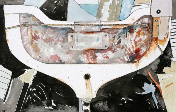 White Boat. - David Pettigrew D.A.