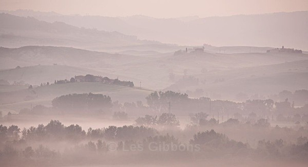 misty valley - Tuscany