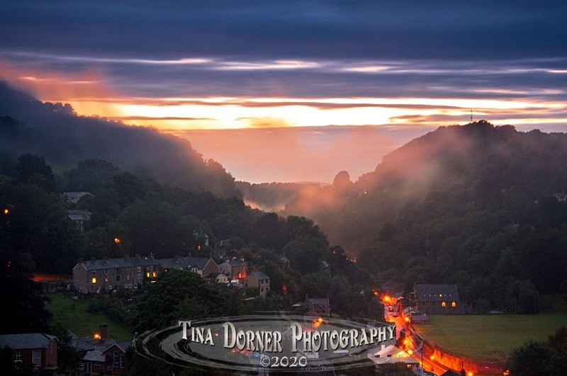 Lydbrook Evening Mist - Spring & Summer in The Forest of Dean & Wye Valley and BLUEBELLS!