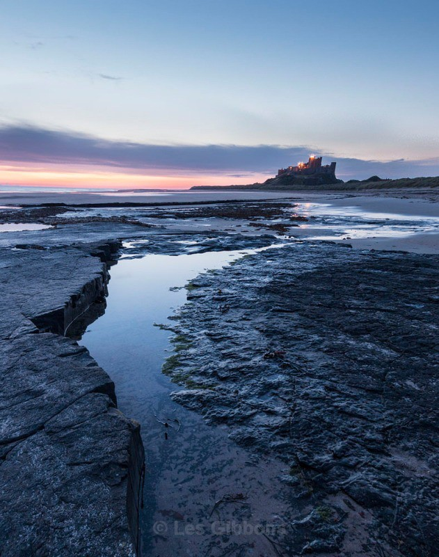 Bamburgh dawn 2 - Northumberland