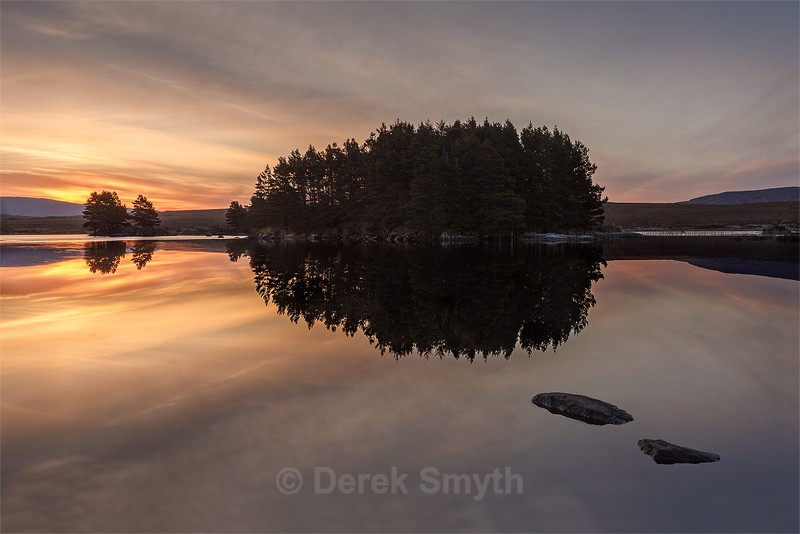 Peace Just Before Sunrise - Remote Donegal Lake