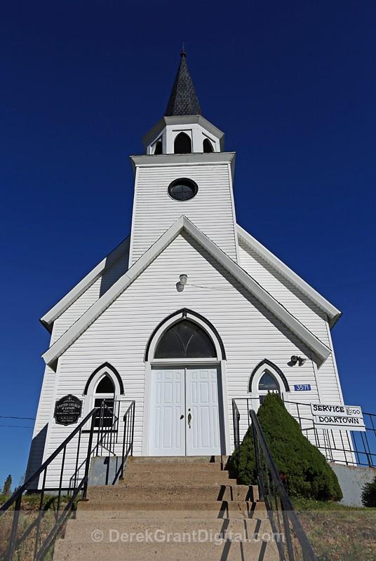 Boiestown United Church - 2   New Brunswick, Canada - Churches of New Brunswick