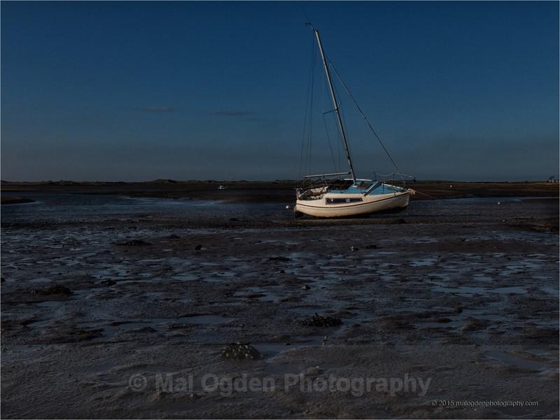 Sunset on the Mud - North West England