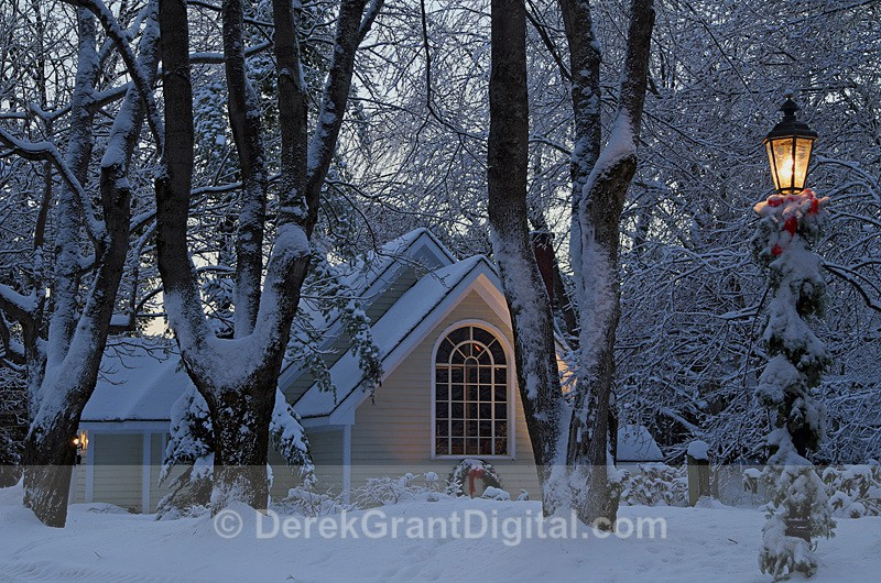 Chapel in the Forest - Winterscape