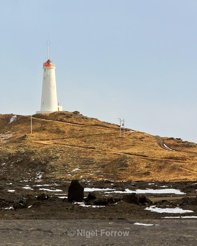 Reykjanesviti lighthouse, Reykjanes peninsula, Iceland - Iceland