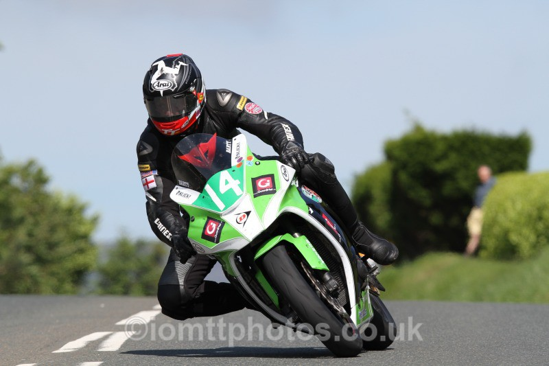 John Barton Kawasaki / Marks Bloom Racing / Wemoto - Bikenation Lightweight TT