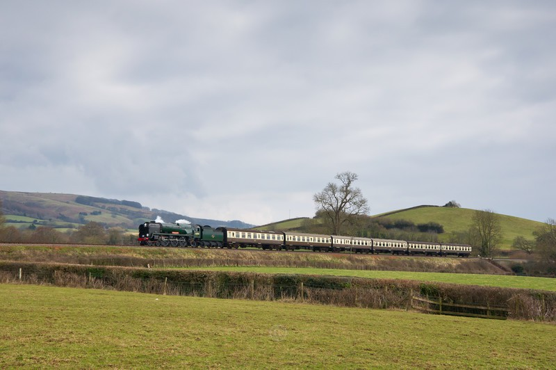 Coasting through the Mendips - The Lure of Steam