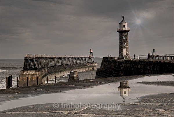 Whitby Pier. - Yorkshire Coast