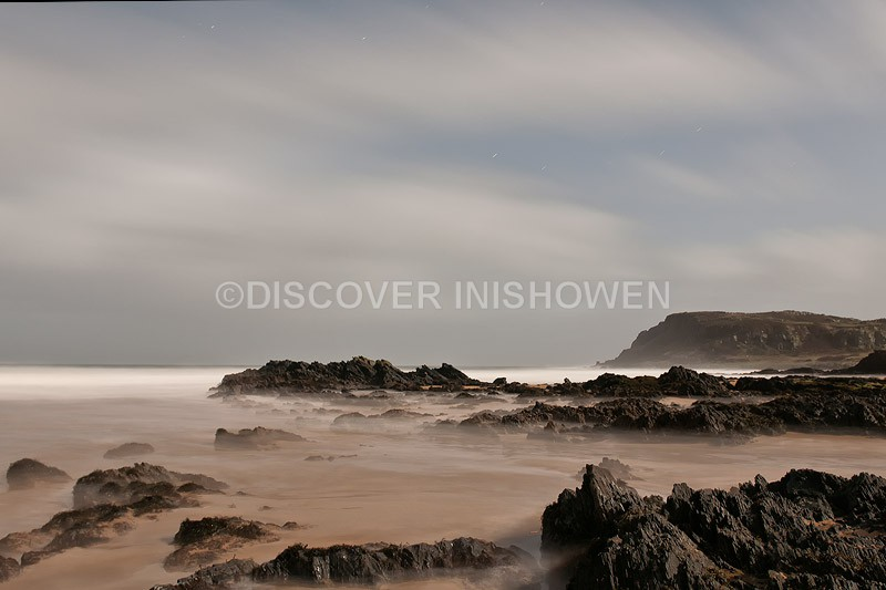 Night at Culdaff Beach - Inishowen peninsula