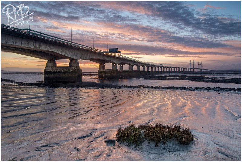 Severn Bridge Sunset - Wiltshire & West Country Landscapes