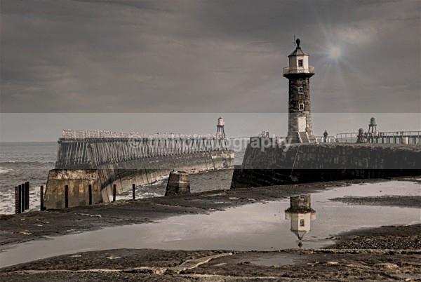 Whitby Pier. - Yorkshire Coast