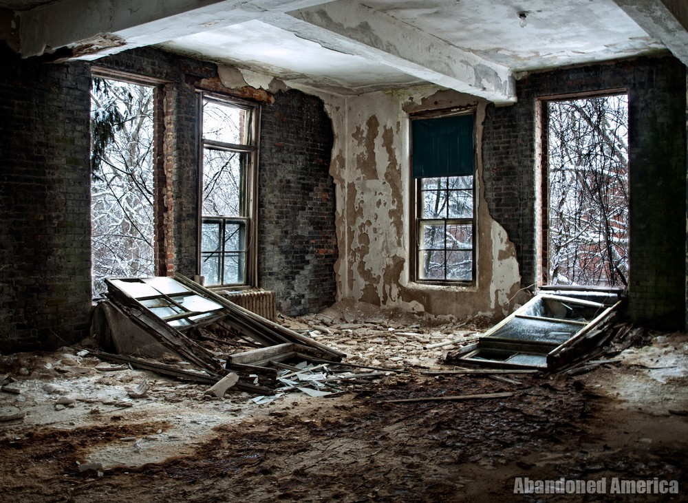 Asylum Windows   Norwich State Hospital