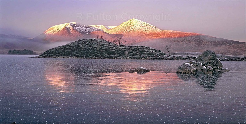 First Light Rannoch Moor - Landscapes