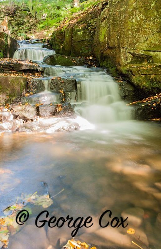 Waterfall near Lumsdale - Waterfalls