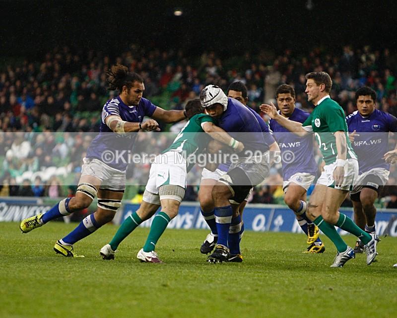 _I2H5981 - Ireland v Samoa - Guinness Series - Aviva Stadium - Dublin - 13/11/2010 Ireland 20 v 10 Samoa