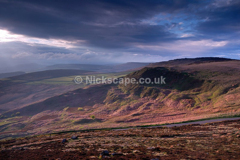 Callow Bank Landslip from Higger Tor - Derbyshire37 - Peak District Landscape Photography Gallery