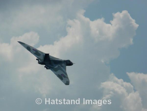 Avro Vulcan XH558 - in the air