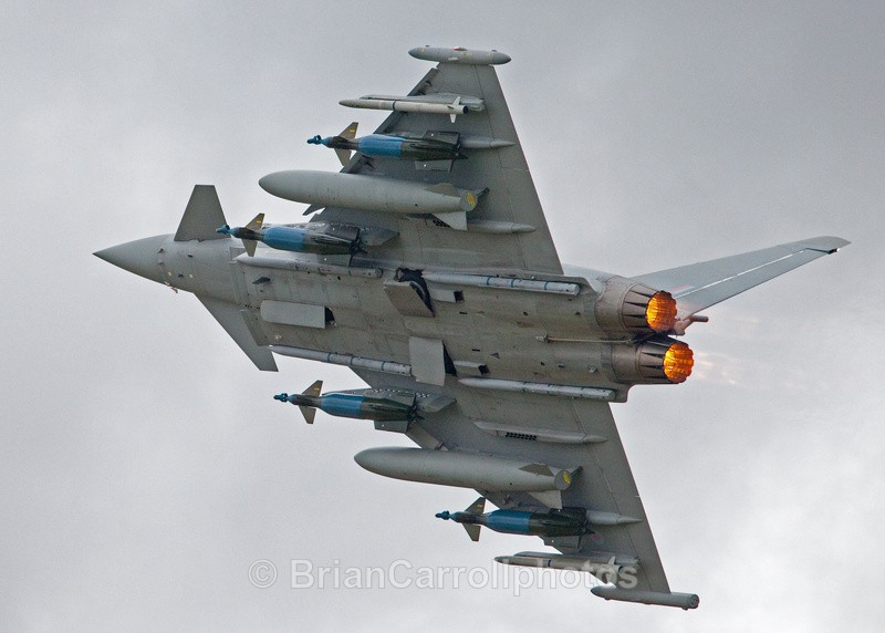 RAF Eurofighter Typhoon - RAF Fairford RIAT 2009 - 2014 Airshows