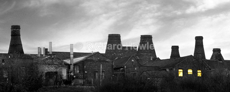 Longton Skyline - Potteries Images