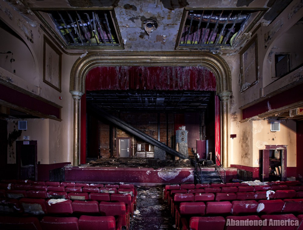 Garman Opera House (Bellefonte, PA) | Stage View - The Garman Theater and Hotel Do De