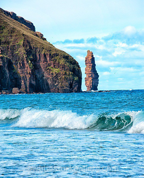 Sea Stack at Sandwood Bay - Scottish Highlands
