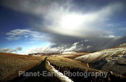 Approaching Snow Storm - Landscapes / Seascapes