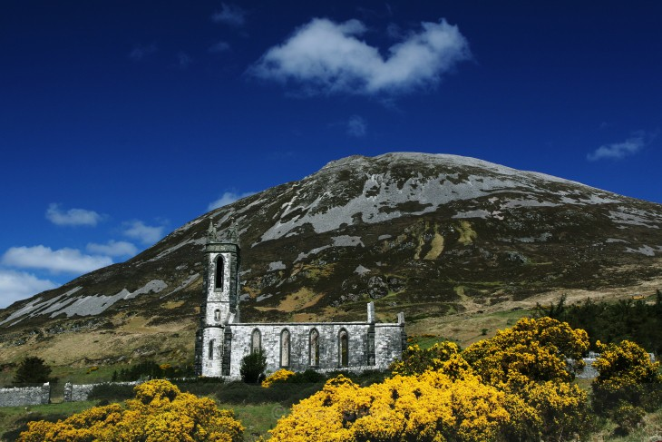 Dunlewey Ruins - Landscapes of Ireland - The History