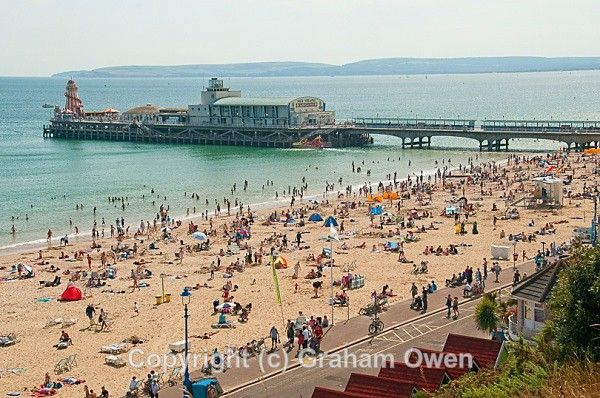 Bournemouth Pier from East Cliff 2 - Bournemouth