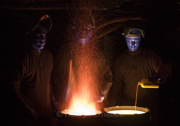 Assignment 5 - Blue Man Group - 2006 Finalist in Popular Photography's Photographer of the Year
