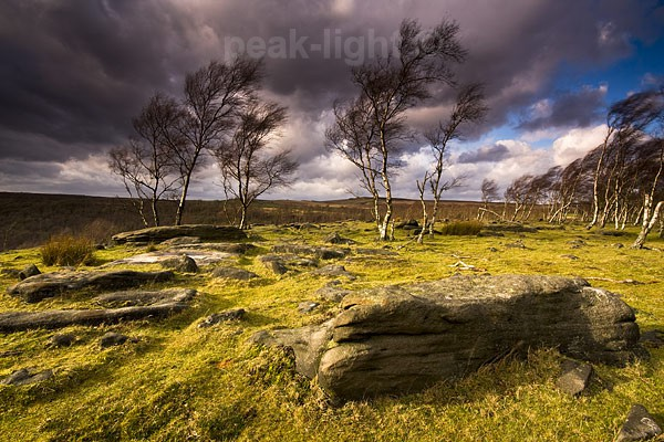 Blowing in the Wind - Peak District