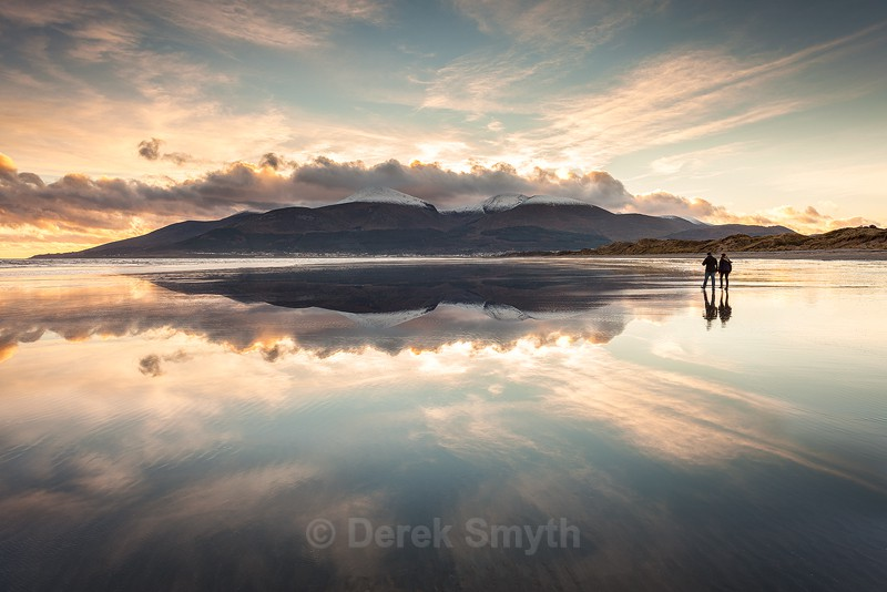 Sky Walkers on Murlough Beach