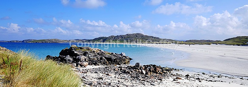 Traigh na Beirigh, Isle of Lewis - Panoramic format